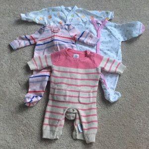 Preemie Baby Sleeper Bundle
